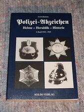 Polizei-Abzeichen , Helme,Heraldik,Historie Band 2 1918 - 1945