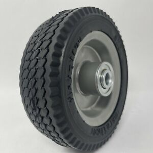 "Marathon 6x2"" Flat Free, Hand Truck / All Purpose Utility Tire on Wheel, 2.375"""