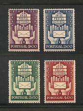 Portugal #713-715 VF MNH - 1949 1e to 4e 75th Anniversary Of UPU - SCV $22.20