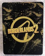 BORDERLANDS 2 PS4 Steelbook Case (No Game) New