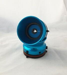 Blue Aluminium NAB Hub adapters fit Studer Revox  MADE/ASSEMBLED IN USA BL