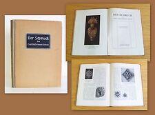 Bassermann-Jordan Der Schmuck 1909 Illustriert Archäologie Kunstgeschichte xz