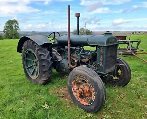 Vintage Fordson Standard N Tractor WW2 1940s Collectable Farm Machinery