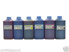 6 x 1 Quart refill Ink kit for HP Brother Lexmark Dell Canon printer cartridge