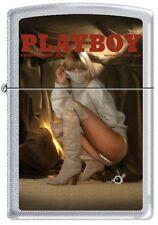 Zippo Playboy November 1978 Cover Satin Chrome Windproof Lighter NEW RARE