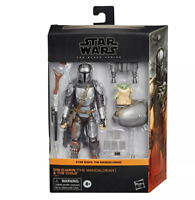 "Hasbro Star Wars The Black Series 6"" DIN Djarin (the Mandalorian) and the child"