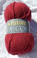 Patons Decor Yarn Wool Blend in Rich Rose, Nip, Smoke Free Home