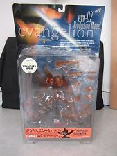 Neon Genesis Evangelion ~ EVA-02 Production Model CLEAR ~ Kaiyodo XEBEC Toys