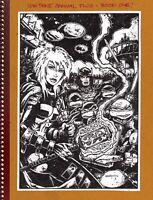 Teenage Mutant Ninja Turtles Annual 2 Hardcover GN Kevin Eastman TMNT New NM