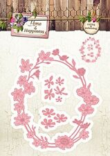 Studio Light Embossing Die Cutting Stencil Home & Happiness No.23