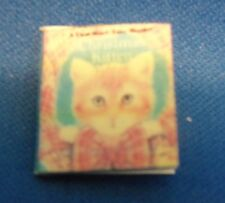 Dollhouse Miniature 1:12 Scale Christmas Kitten Book
