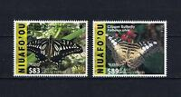 Niuafo'ou - 2016 Butterflies EMS Rates Part 3 Postage Stamp Singles Set