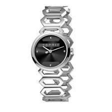 Esprit Arc horloge zwarte wijzerplaat