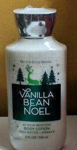 Bath & Body Works Vanilla Bean Noel Body Lotion 8oz FACTORY SEALED