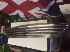 BMW Mini One Cooper S R50 2001/06 Bonnet Top Front Grille Chrome Damage End Bit