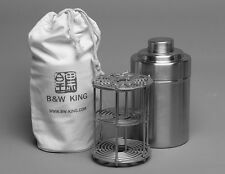 B&W KING 5X7 Format Stainless Steel Film Developing Tank (Install 6 film)