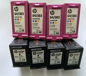 HP 303  EMPTY CARTRIDGES - NEVER REFILLED for recycling