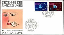 Decenio de las Naciones Unidas Ginebra 1980 Naciones Unidas para mujer FDC Primer Día Cubierta #C36045