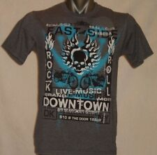"DKNY ""Downtown Rock N Roll "" - Graphic UNISEX Medium T-shirt"