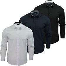Brave Soul Men's Cotton Long Sleeve Casual Shirts & Tops
