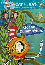 The Cat in the Hat Knows a Lot About That! Ocean Commotion! DVD NEW Martin Short