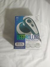 WAHL Therapeutic Deep Rolling Shiatsu Handheld Massager, Full Body Massage NEW!