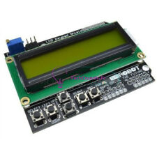 LCD 1602 with Keypad Shield Board Yellow Backlight for Arduino Duemilanove Robot