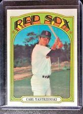 1972 Topps #37 Carl Yastrzemski Boston Red Sox