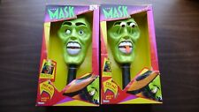 Lot of 2 Kenner Jim Carrey The Mask Movie Toy Pop Out Eyes Tongue Box Halloween