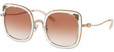 Coach HC 7101B Rose Gold Crystal/Pink Shaded 53/23/140 women Sunglasses