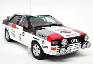 Sunstar 1/18 - Audi Quattro A2 Argentina Rally Winner 1983 #2 Diecast model car