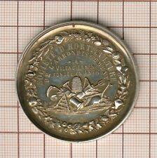 Valenciennes , médaille vermeil  argent doré  exposition d'Horticultute 1877