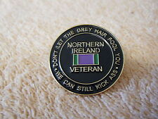northern island, RUC /ARMY /SPECIAL FORCES. good quality . VETERANS PIN BADGE