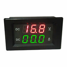 Voltmeter 100V Amperemeter 20A LED Digital Spannung Strom Panel Shunt 12V 24V