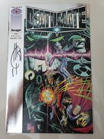 DEATHMATE SILVER EPILOGUE (1994) IMAGE/VALIANT SIGNED by JOE QUESADA! NM COA