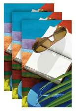 Sunglasses Fiber-Reaction Printed Beach Towel - 30 x 60 inches 3 PACK