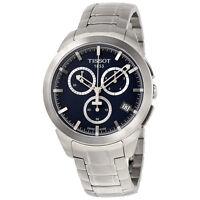 Tissot T-Sport Titanium Chronograph Blue Dial Mens Watch T0694174404100