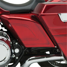 Arlen Ness Custom Side Cover Set for Stretched Bags 1997-2008 Harley Touring