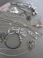 Vintage Estate Necklaces Chokers Job Lot Modernist Mid Century