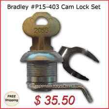 Bradley Cam Lock Kit - #P15-403 for Paper Towel and Toilet Tissue Disp. (1/set)