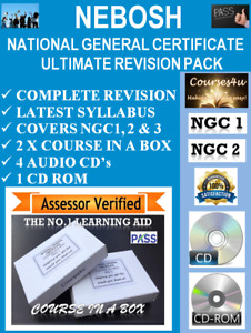 NEBOSH National General Certificate Ultimate Revision Pack PASS 1st TIME!