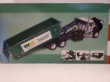 Waste Management Mack Roll off Refuse Diecast Trash Truck 1:34 First Gear NIB