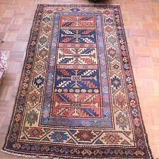 Antique Kurdish Northwest Persian Rug, late19th century 6 ft 9 i x 3 ft 9 in