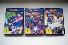 Lego DVD, 3 Stück, DC Super Heroes, Gerechtigkeitsliga, Cosmic Clash, Bizarro**