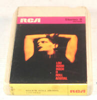 ⭐️ 8-track / 8 track tape cassette LOU REED ROCK N ROLL ANIMAL heroin sweet jane