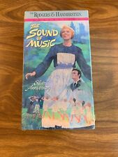 The Sound Of Music Rodgers And Hammerstein Collection VHS Tape SEALED Silver