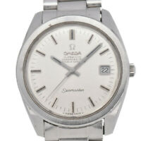 Auth OMEGA Seamaster Cal.564 Date Chronometer Automatic Men's Watch i#92796