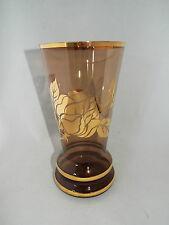 Vintage Borske Sklo 25.5 cm Vase