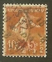 """FRANCE STAMP TIMBRE N° 146 """" SEMEUSE CROIX ROUGE +5c S.10c """" OBLITERE TB"""