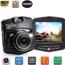 Auto DVR HD 1080P Recorder Dashcam Digital Registrator G-Sensor Nachtsicht NEU